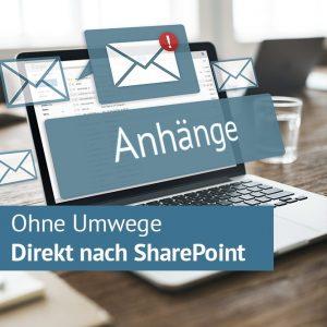 Outlook Anhänge direkt nach SharePoint speichern