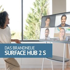 Das brandaktuelle Surface Hub 2S