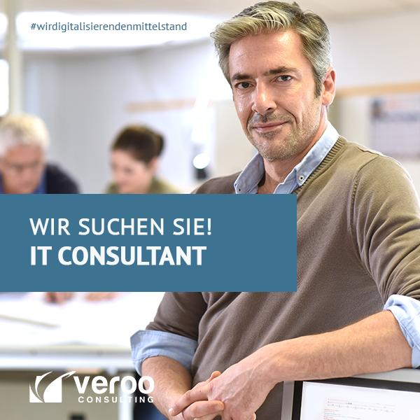 STELLENANZEIGE: Senior IT Consultant (m/w/d)