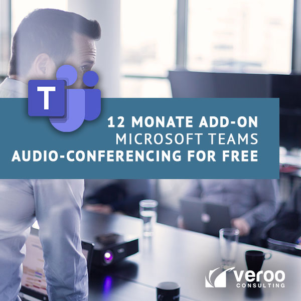 Microsoft Teams Audioconferencing for free