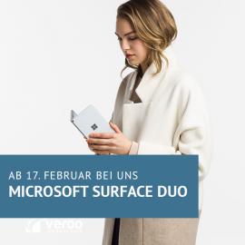 Microsoft Surface Duo ab dem 18. Februar 2021