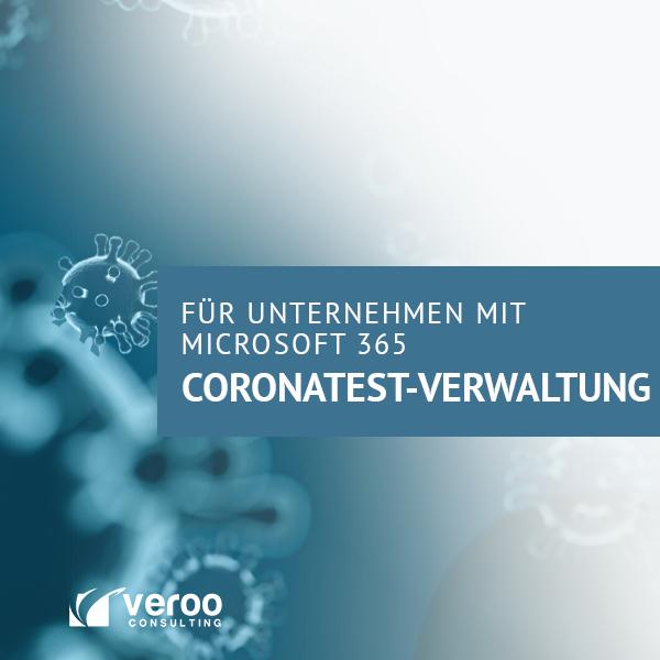 Corona-Test-Verwaltung | Teil 1